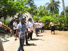 Polynesian Cultural Center Activity April 2014