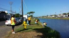 kapalama Canal Creanup Aug 2014