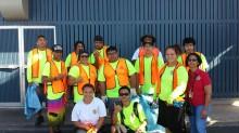 kapalama Canal Creanup Group Aug 2014